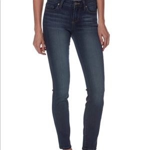Paige ankle mid rise skinny jean size 25